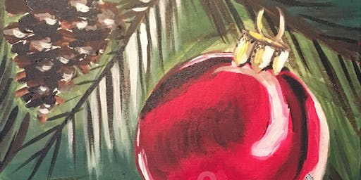 """Deck the Halls"" Painting & Vino Event"