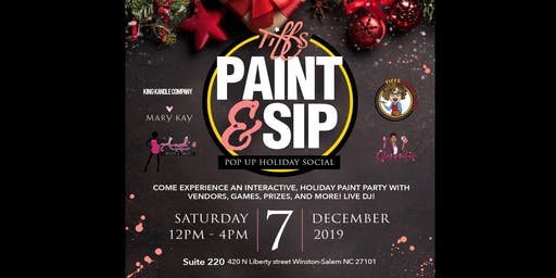 Tiff's Paint and Sip Presents: A Pop-up Holiday Social