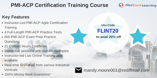 PMI-ACP Bootcamp Training in Dover, NH