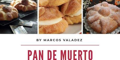 Pan de Muerto tradicional con Marcos Valadez en Anna Ruíz Store entradas