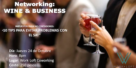 NETWORKING: Wine & Business tickets