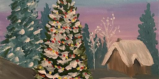 """Oh, Christmas Tree"" Painting & Vino Event"