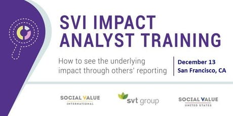 Impact Analyst Training tickets