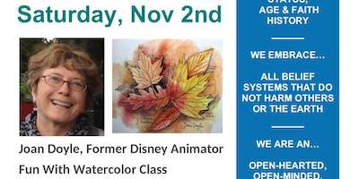 Fun With Watercolor Nov 2