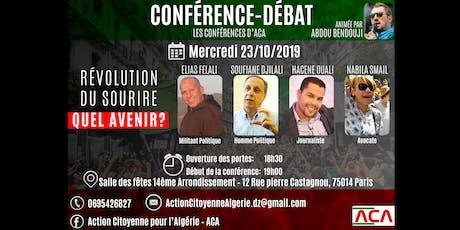 Conférence-débat : La révolution de la souveraineté billets