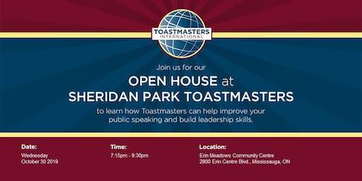 Sheridan Park Toastmasters Open House-Breaking Boundaries & Breaking Free