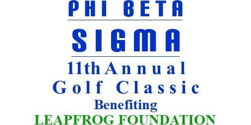 Phi Beta Sigma 11th Annual Golf Classic - Benefiting The Leapfrog Foundation