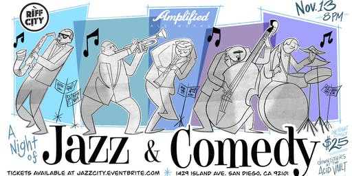 Comedy and Jazz @Amplified Ales East Village