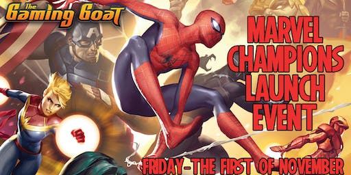 Fantasy Flights Marvel Champions Release Event at The Gaming Goat Austin