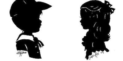 Premier silhouette artist Cindi in Houston