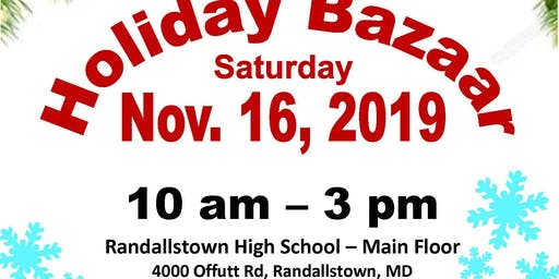 RHS Holiday Craft Bazaar