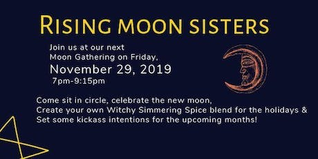 November Moon Gathering & Holiday Simmering Spices  Potions workshop tickets