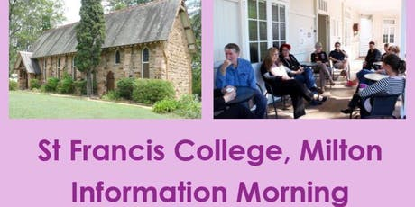 St Francis College Information Morning tickets