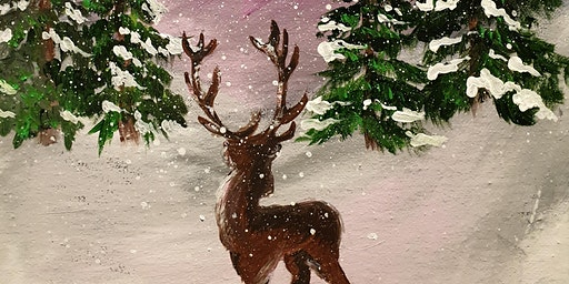 Festive Paint Party at the Queens College Arms