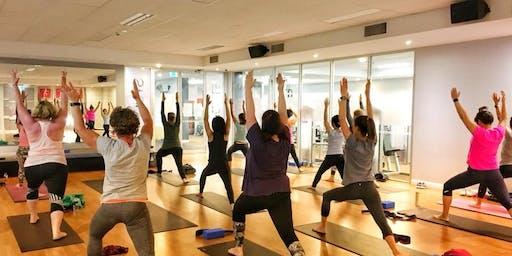 CanTeen Bandanna Day Yoga Class