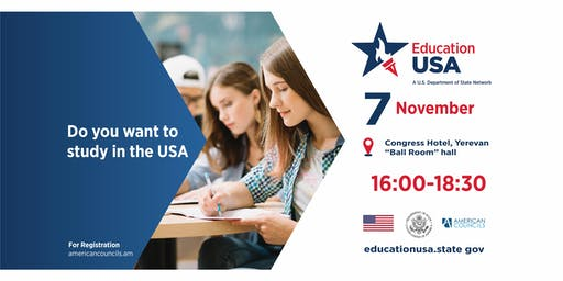 EducationUSA Fair 2019 in Yerevan