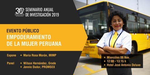 Empoderamiento de la Mujer Peruana