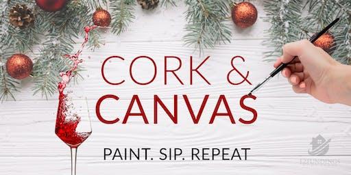 [Paint, Sip, Repeat] Cork & Canvas