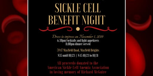 Sickle Cell Benefit Night