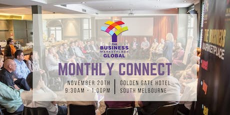 The Business Marketplace Monthly Connect - November tickets