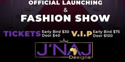 J'Naj Designs official launching and fashion Show
