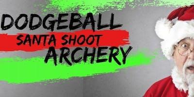 SANTA SHOOT w/ Dodgeball Archery