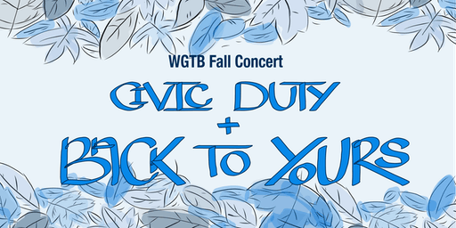 WGTB Fall Concert
