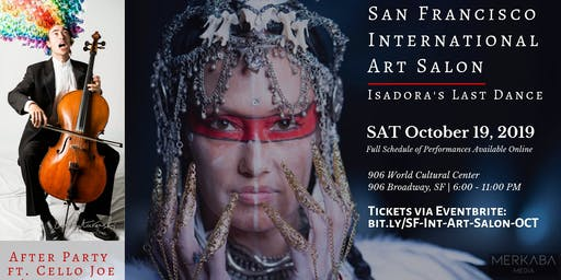 San Francisco International Art Salon: Isadora's Last Dance