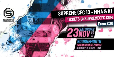Supreme Cage Fighting Championship - (Showtime MMA 13) tickets