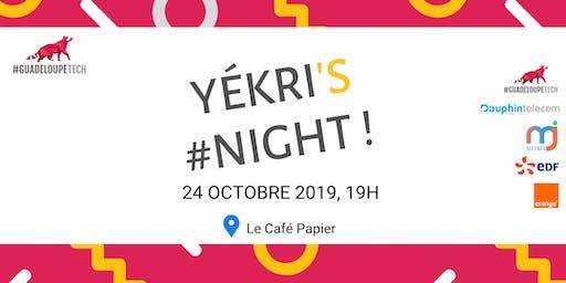 Yékri's Night - Accueil des Nouveaux Membres