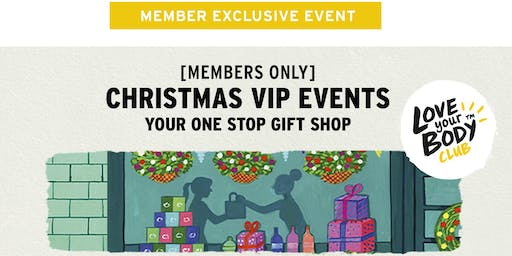 The Body Shop Tea Tree Plaza, SA | Christmas VIP Event