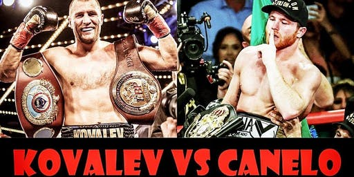 WBO Light Heavyweight Title - Canelo Álvarez vs Sergey Kovalev