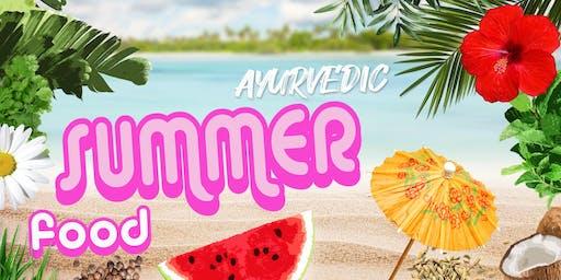 Ayurvedic Summer Food Cooking Class
