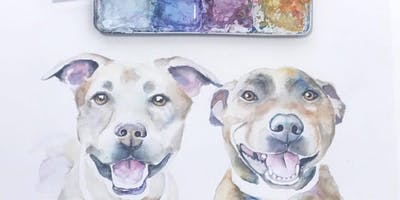 ***** and Teen Pet Portrait Painting Class