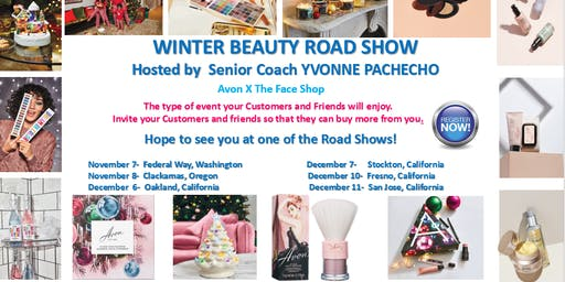 Winter Beauty Road Show By Senior Coach Yvonne Pacheco