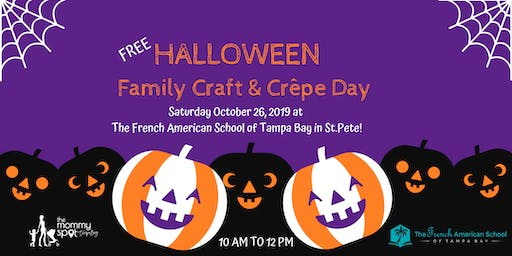 FREE Halloween Family Craft & Crêpe Day