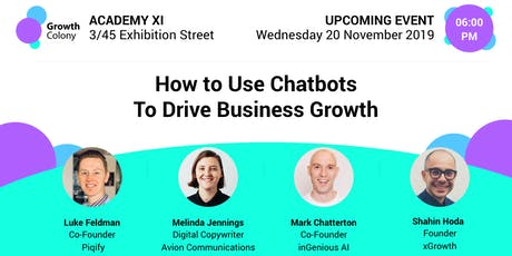 How to Use Chatbots to Drive Business Growth tickets