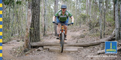 Get good at riding a mountain bike (women only)