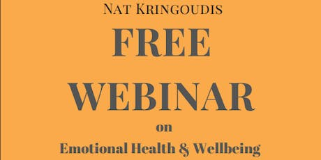 Emotional Health and Wellbeing with TCM Expert Nat Kringoudis tickets