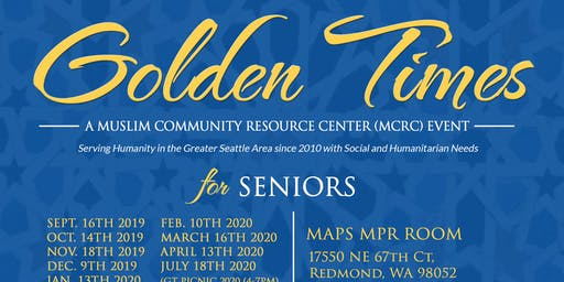 MAPS-MCRC Golden Times Event