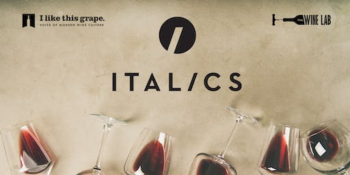 Italics Napa Valley: Wine Tasting+Pairing+$75 Bottle to take home!