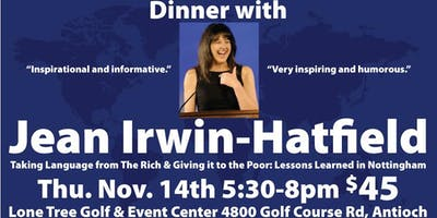 Delta Force Rotary Dinner With Jean Irwin