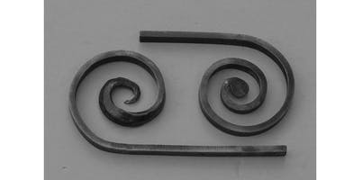 Forging Decorative Scrolls: Half Penny Scroll, Beveled Scroll, and Collars  (2019-11-23 starts at 9:00 AM)