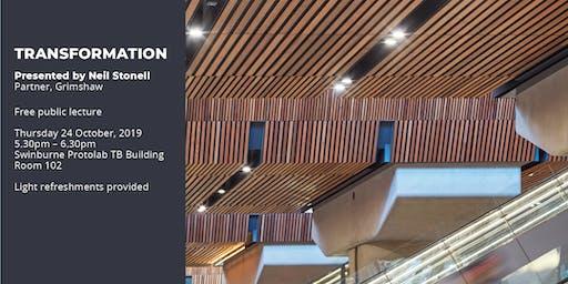 Lecture 6 - Swinburne Design Lecture Series 2019  24th Oct 5.30pm - 6.30pm