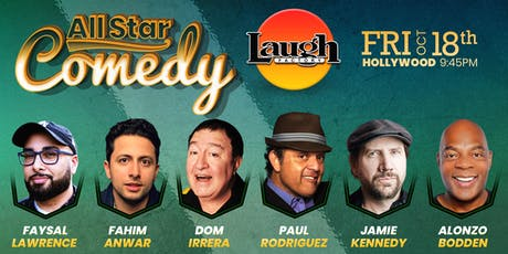 Paul Rodriguez, Jamie Kennedy, and more - Special Event: All-Star Comedy tickets