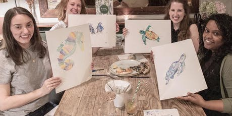 Adult and Teen Watercolour Class at Olive Tree Market. tickets
