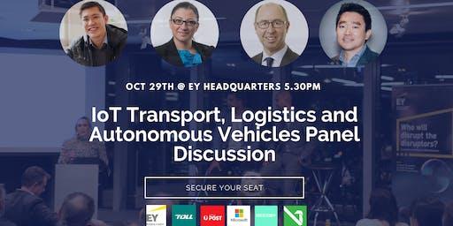 Microsoft, EY,Reesby: IoT Transport Logistics and Autonomous Vehicles Panel