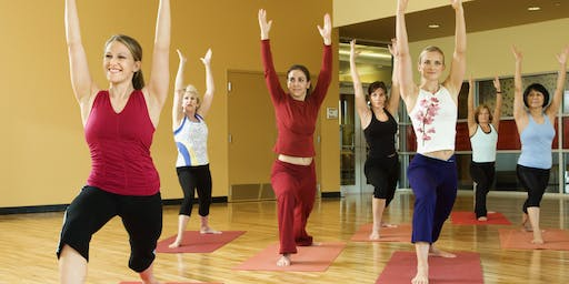 Women Networking and Yoga