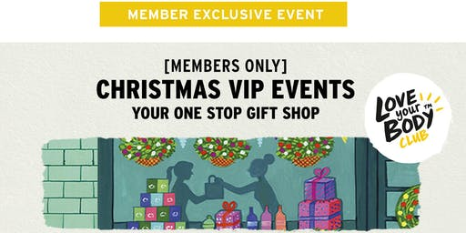 The Body Shop QVB, NSW | Christmas VIP Event