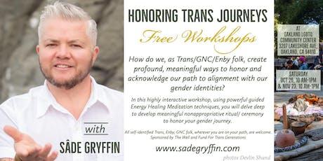 Honoring Trans Journeys tickets
